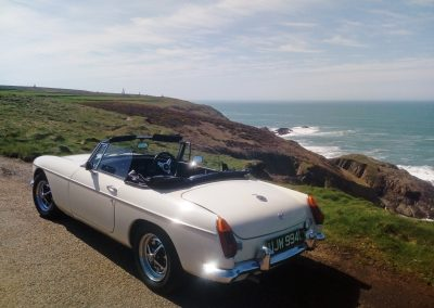 Hire an MGB Roadster in Cornwall 2