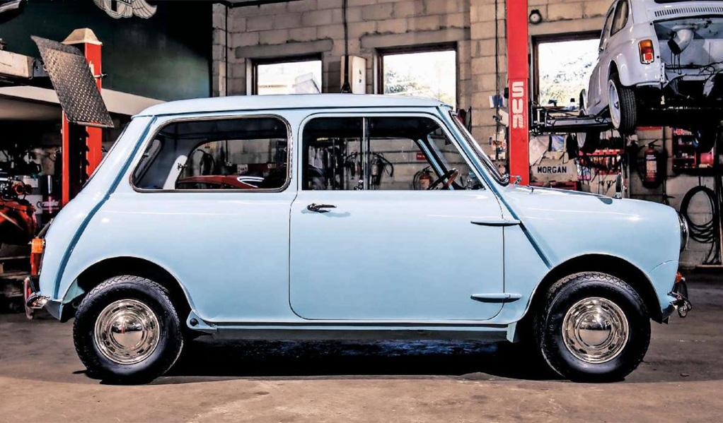 Mini Restoration Perranwell Garage