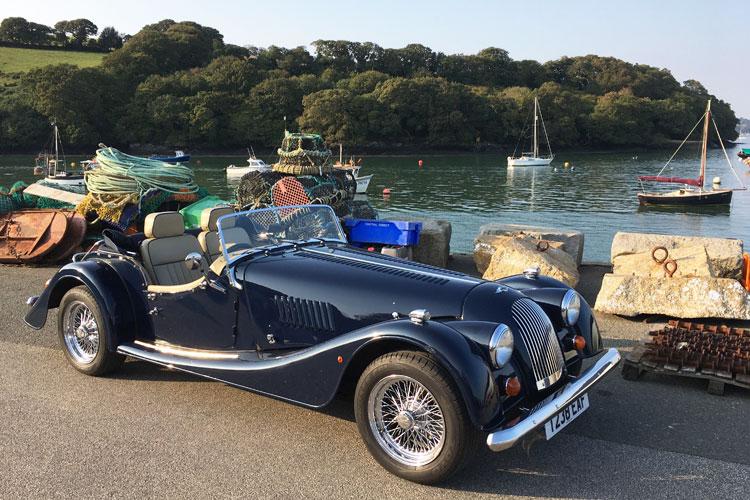 Morgan Plus 4 - Mylor Harbour Cornwall